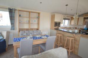 Alberta Whitstable - Willerby Cranbrook - Kitchen Dinner