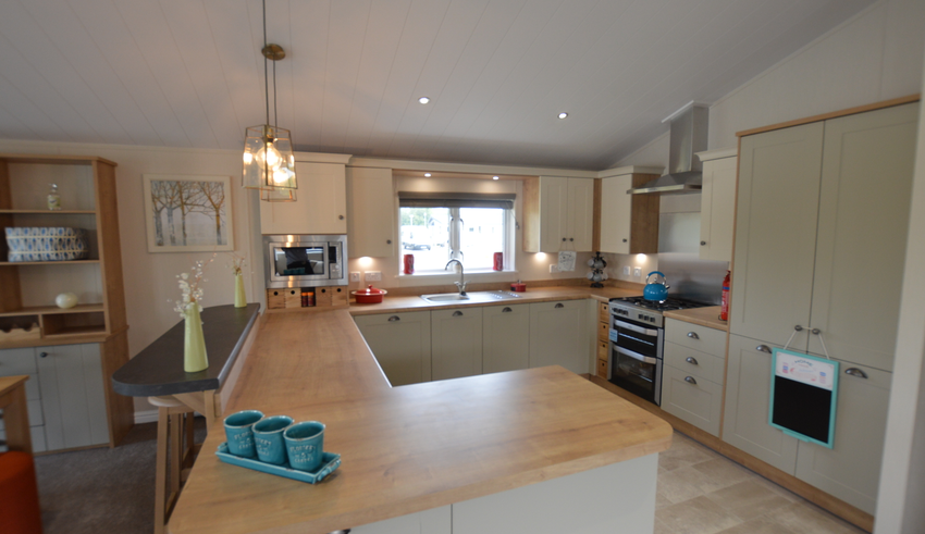 Willerby Heathfield - Chichester Lakeside Holiday Park - Kitchen