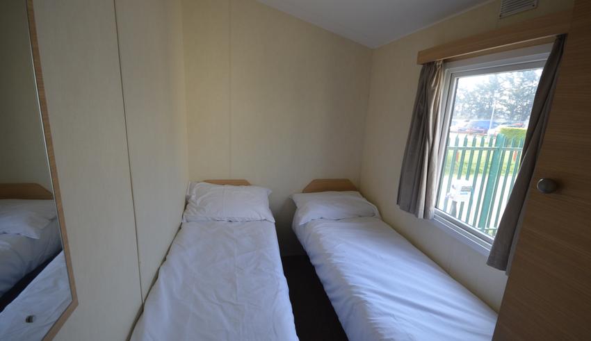 Seaview Holiday Park - Atlas Festival - Bedroom 1
