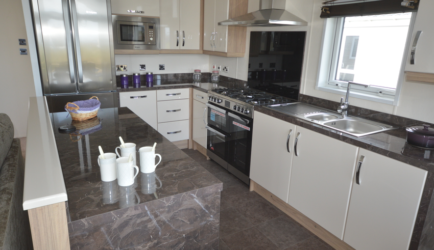 Seaview Holiday Park - Delta Canterbury - Kitchen