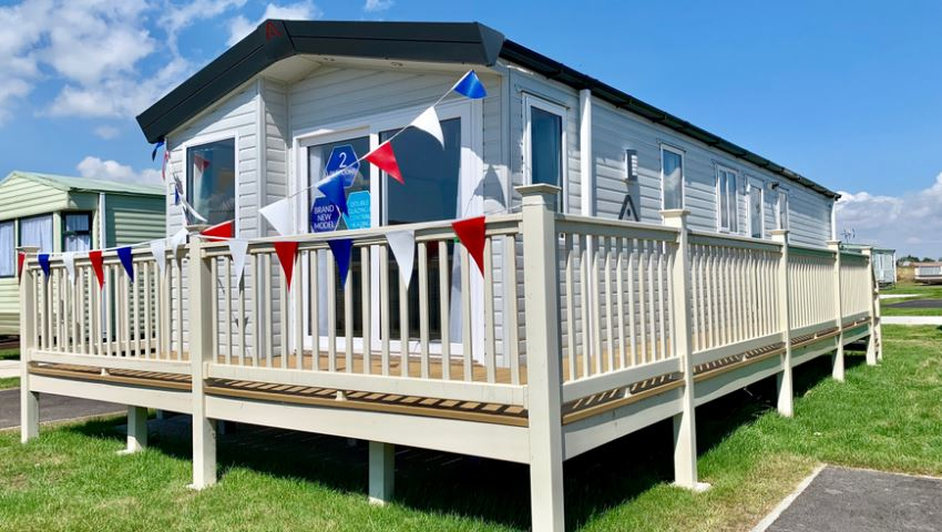 Atlas Debonair at Martello Beach Holiday Park, Clacton-on-Sea, Essex