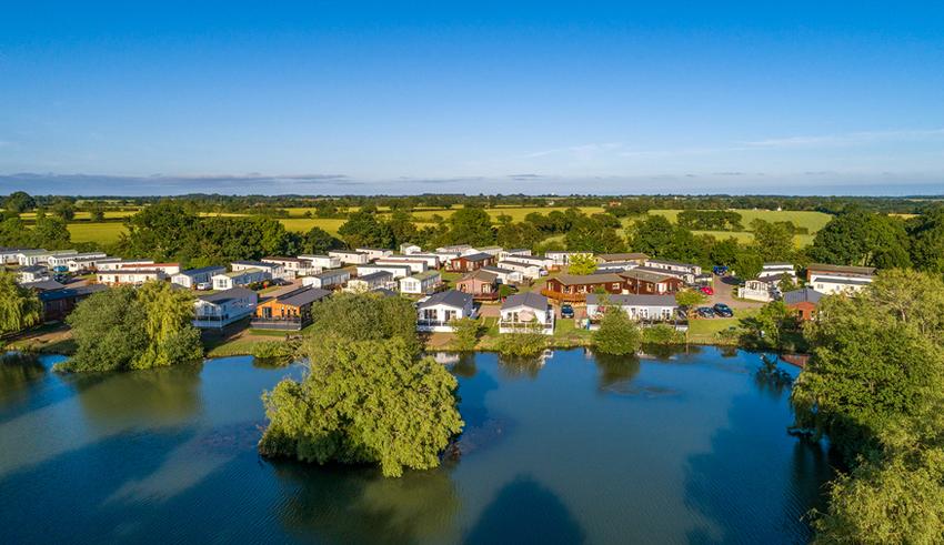 Carlton Meres Holiday Park Lake