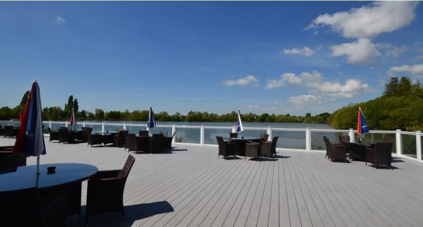 Chichester Lakeside Holiday Park - Decking
