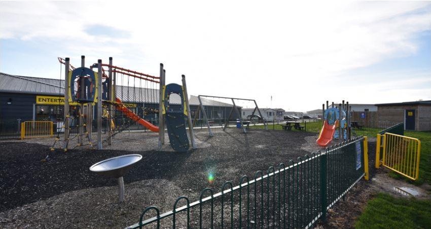 New Beach Holiday Park Beach Playground